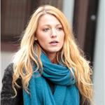 Blake Lively on the set of Gossip Girl in NYC 100666