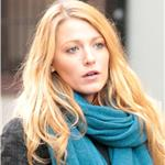 Blake Lively on the set of Gossip Girl in NYC 100668