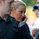 Blake Lively arrives at the set of Gossip Girl in Brooklyn, New York City 126439