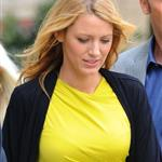 Blake Lively on the set of Gossip Girl 126889