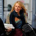Blake Lively on the set of Gossip Girl 126895