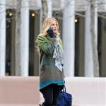 Blake Lively on the set of Gossip Girl in NYC 107750