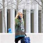 Blake Lively on the set of Gossip Girl in NYC 107757