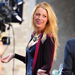 Blake Lively on the set of Gossip Girl in NYC 124567