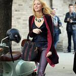 Blake Lively on the set of Gossip Girl in NYC 124584