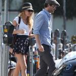 Blake Lively and Ryan Reynolds have a picnic and get ice cream in Los Angeles  108723