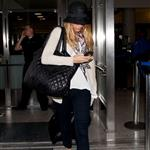 Blake Lively and Ryan Reynolds arrive at LAX 121368