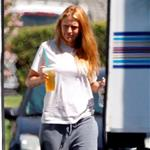 Blake Lively on the set of The Savages  92263