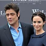 Emily Blunt and Benicio Del Toro in Rome for The Wolfman 54234
