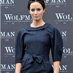 Emily Blunt in Rome for The Wolfman 54239