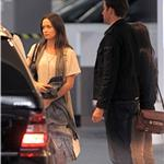 Emily Blunt with John Krasinski leaving Soho House  74961