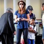 Emily Blunt at LAX 45218