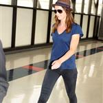 Emily Blunt at LAX 45215