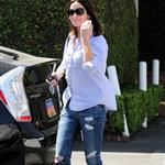 Emily Blunt goes shopping at Fred Segal 58051