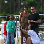 Bono family and friend Helena in St Barts 36364
