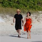 Bono family and friend Helena in St Barts 36360