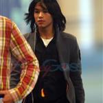 BooBoo Stewart arrives in Vancouver to shoot Eclipse  47159