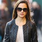 Pippa Middleton walks to work in London 100870