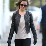 Pippa Middleton walks to work in London 100873