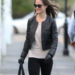 Pippa Middleton walks to work in London 100875