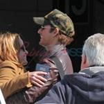 Peter Facinelli and Elizabeth Reaser arrive in Vancouver 36718