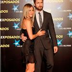 Jennifer Aniston and Gerard Butler in Madrid Spain for The Bounty Hunter 57889