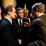 David Boies, George Clooney, and Theodore B. Olson attend the one-night reading of '8' presented by The American Foundation For Equal Rights & Broadway Impact at The Wilshire Ebell Theatre  108117