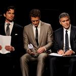 Matt Bomer, Matthew Morrison, George Clooney attend the one-night reading of '8' presented by The American Foundation For Equal Rights & Broadway Impact at The Wilshire Ebell Theatre 108118