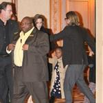 Brad Pitt and Angelina Jolie Take the kids to see the Immortal Michael Jackson Cirque du Soleil in Las Vegas 100928