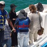 Brad Pitt and Angelina Jolie continue their vacation in the Galapagos Islands with their children 112192