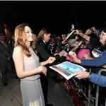 Angelina Jolie and Brad Pitt sign autographs at The 23rd Annual Palm Springs International Film Festival Awards Gala 102081