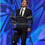 Brad Pitt accepts award at The 23rd Annual Palm Springs International Film Festival Awards Gala 102099