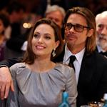Angelina Jolie and Brad Pitt attend the Cinema for Peace Gala ceremony in Berlin 106053