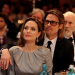 Angelina Jolie and Brad Pitt attend the Cinema for Peace Gala ceremony in Berlin 106056