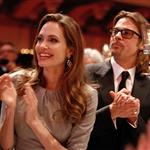 Angelina Jolie and Brad Pitt attend the Cinema for Peace Gala ceremony in Berlin 106058