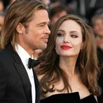 Brad Pitt and Angelina Jolie  124324