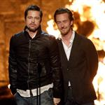 Brad Pitt and Edward Norton reunite Fight Club for Spike TV Guys Choice Awards 40243