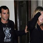 Jennifer Aniston leaves her NYC apartment with Justin Theroux  94395