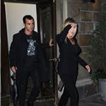 Jennifer Aniston leaves her NYC apartment with Justin Theroux  94396