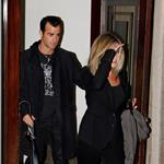 Jennifer Aniston leaves her NYC apartment with Justin Theroux  94400
