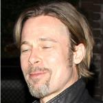 Brad Pitt has a great bob out for dinner with friend 82679