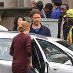 Brad Pitt on the set of World War Z, 2011 118052