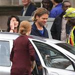 Brad Pitt on the set of World War Z, 2011 118053