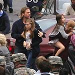 Brad Pitt on the set of World War Z, 2011 118055