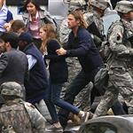 Brad Pitt on the set of World War Z, 2011 118057