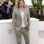 Brad Pitt at the photocall for Killing Them Softly at the 65th Annual Cannes Film Festival 115183
