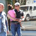 Brad Pitt and Zahara cause riot at American Girl at The Grove 69476