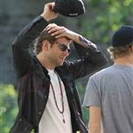 Bradley Cooper Zoe Saldana first shots on the set of The Words in Montreal 86965