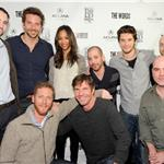 Michael Benaroya, Bradley Cooper, Zoe Saldana, Director Lee Sternthal, Ben Barnes, Scott Shooman of CBS Films, Director Brian Klugman, Dennis Quaid, Brian Klugman and James Babson attend the The Words dinner At Acura Studio  103960
