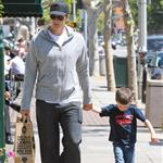 Tom Brady with son Jack at Whole Foods 111218